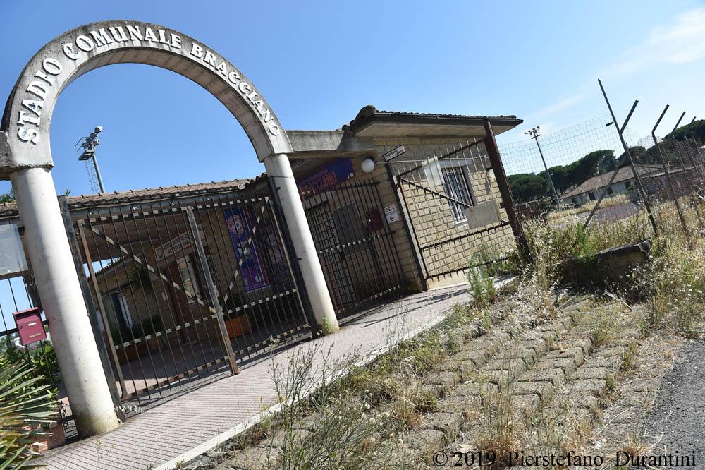 Il Campo Sportivo di Bracciano ″Massimiliano Vergari″