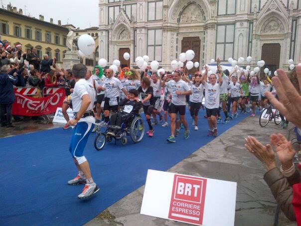 Alla Firenze Marathon coi Maratonabili