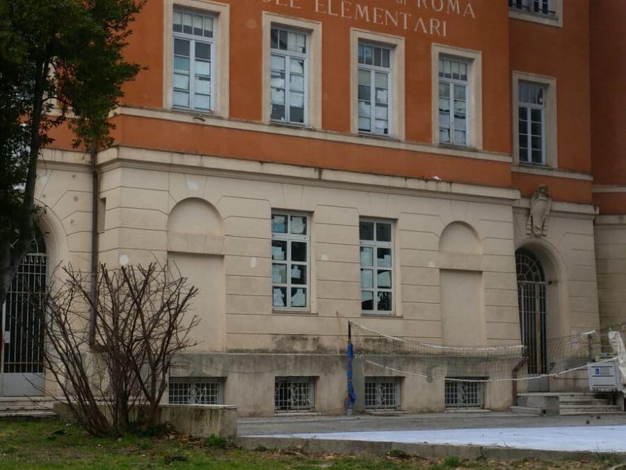 Scuola Inagibile a Cesano